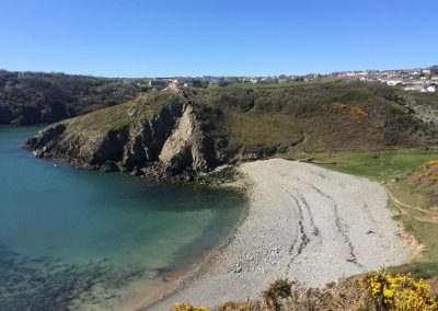 Gwadn beach in Solva