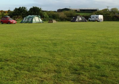 The campsite at Llanungar