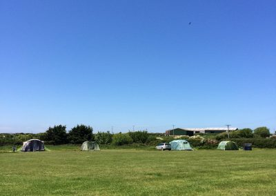 Campers at Llanungar