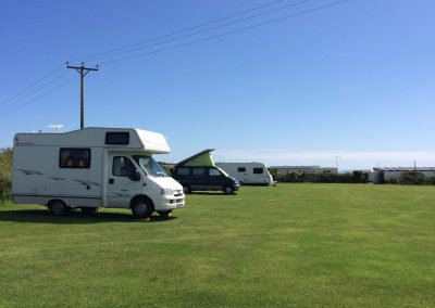 Camping & touring at Llanungar