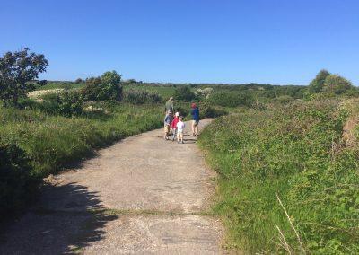 Route to Porth y Rhaw from Llanungar