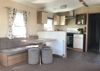Open plan kitchen & dining area, Skomer View