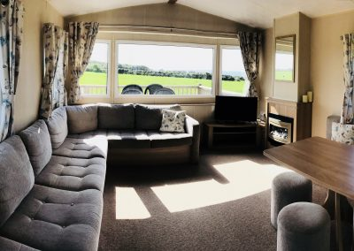 Lounge & dining area in Skomer View