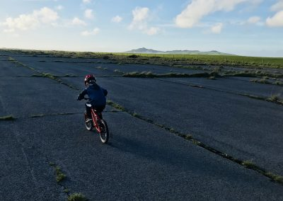 A great place to cycle, St David's Airfield